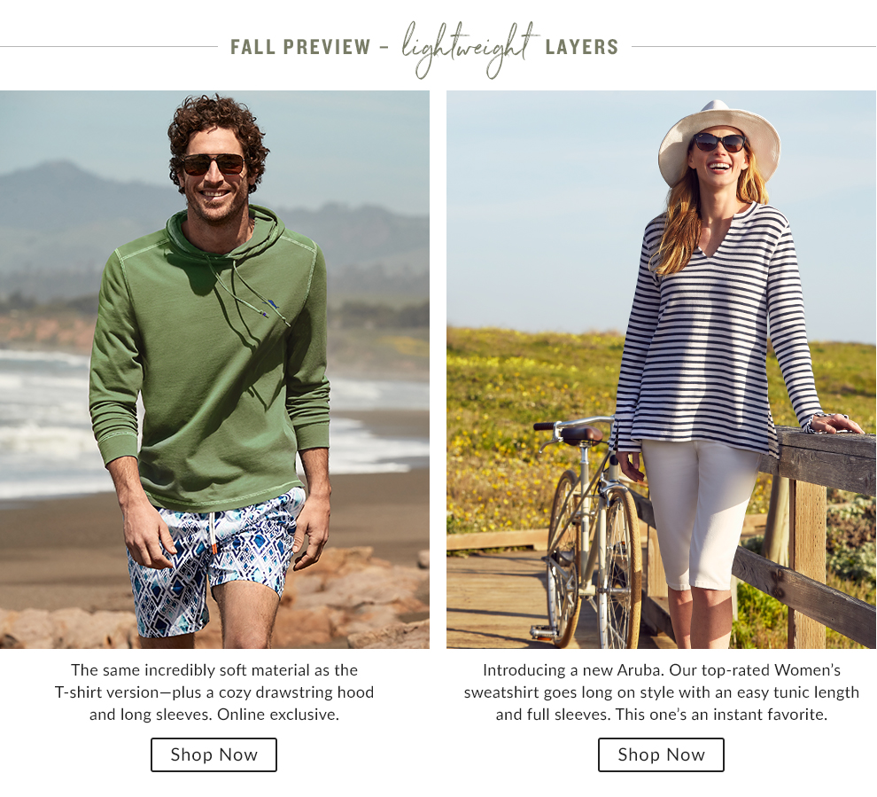 Fall Preview - Lightweight Layers