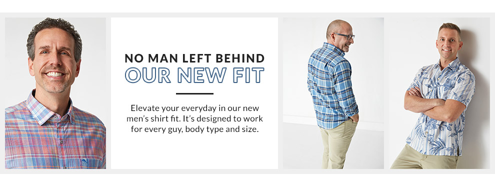 No Man Left Behind - Our New Fit