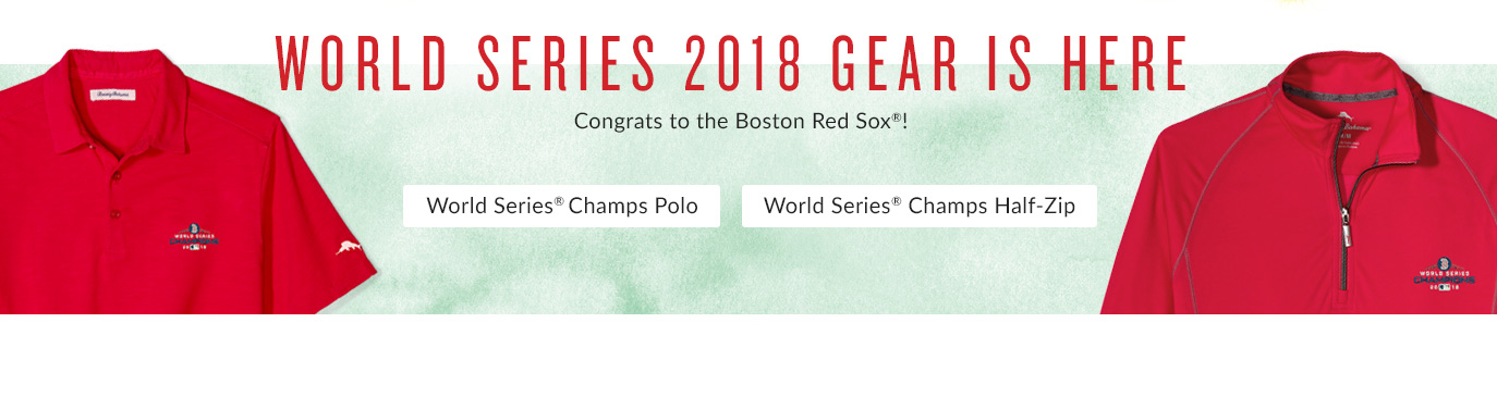 World Series 2018 Gear Is Here!
