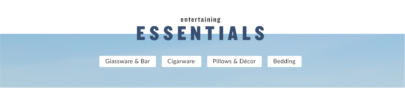 Entertaining Essentials