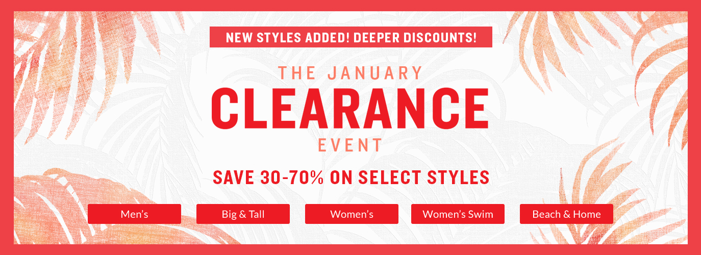 The January Clearance Event