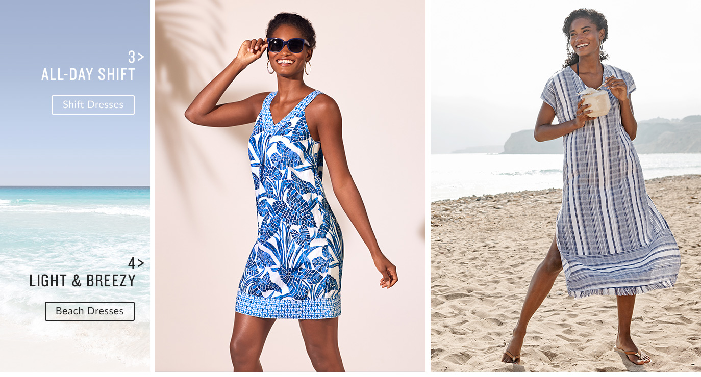 Shift Dresses, Beach Dresses