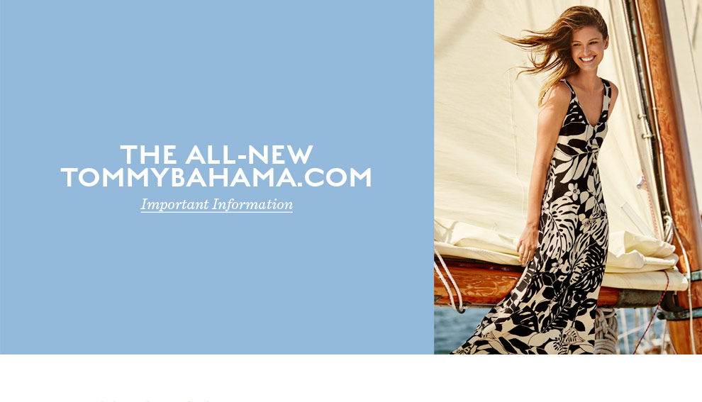 The all-new Tommy Bahama