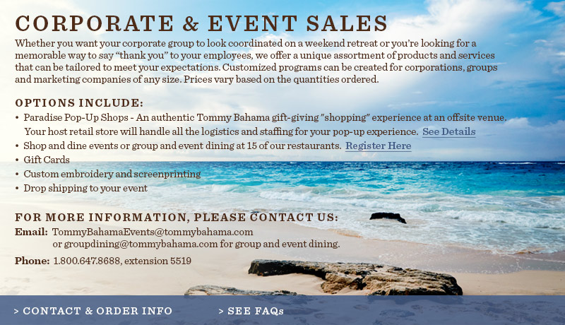 Corporate and Event Sales