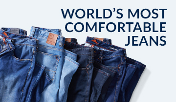 World's Most Comfortable Jeans