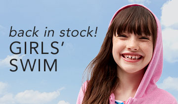 Back In Stock! Girls' Swim