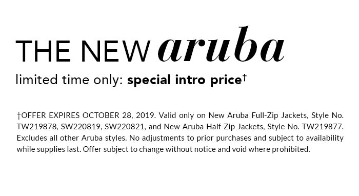 The New Aruba Special Intro Price
