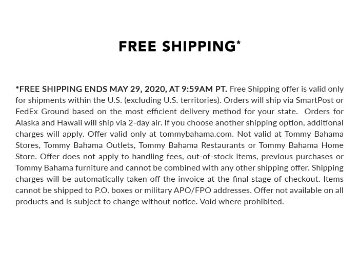 Terms & Conditions for Free Shipping