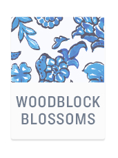 Woodblock Blossoms