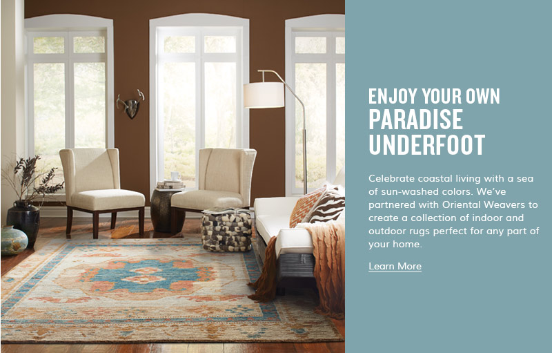 Enjoy your own Paradise Underfoot