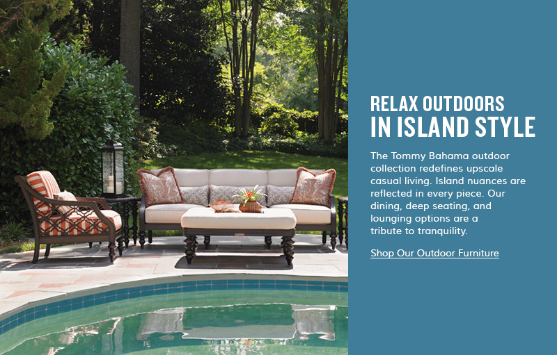 Relax Outdoors In Island Style