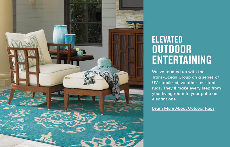 Create your own Island with Outdoor Rugs