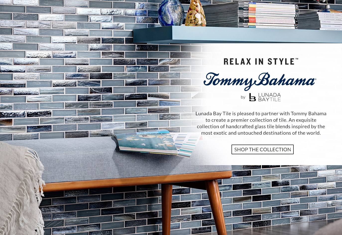 Tommy Bahama Inspired Transitional Bathroom Remodel