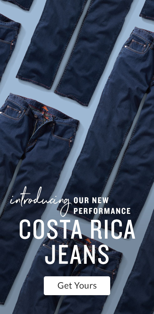 Introducing Our New Performance Costa Rica Jeans