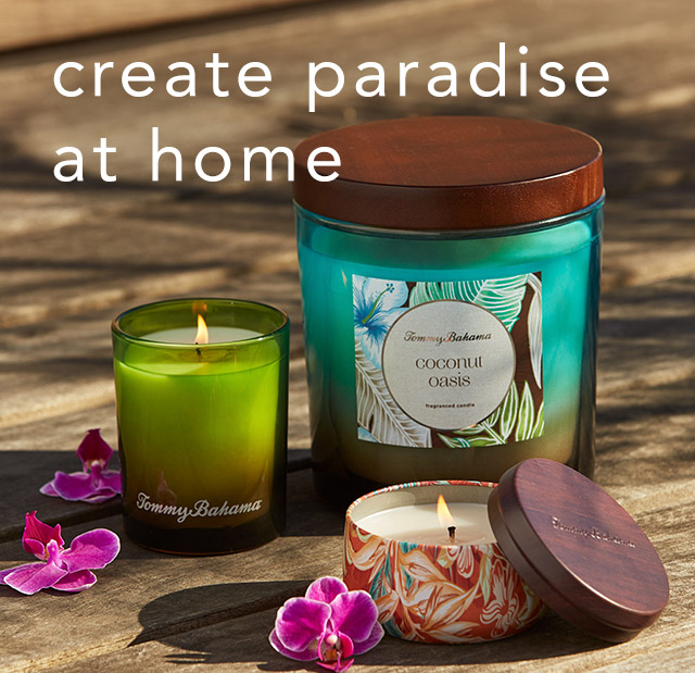 Create Paradise at Home