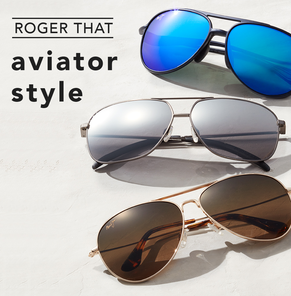 Roger That Aviator Style