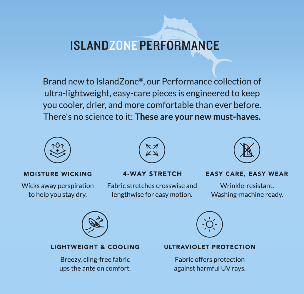 IslandZone® Performance