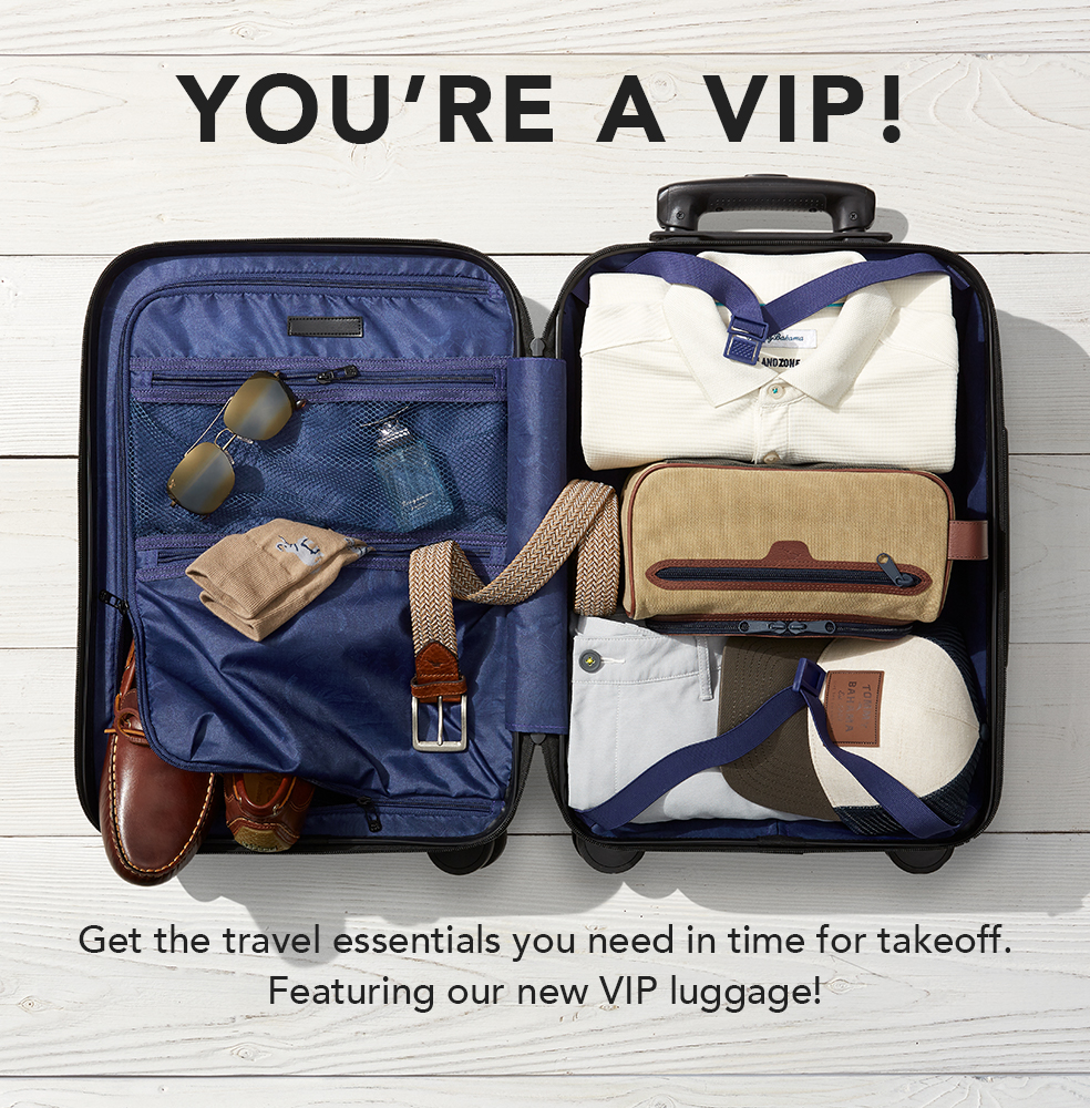 You're A VIP! VIP Luggage