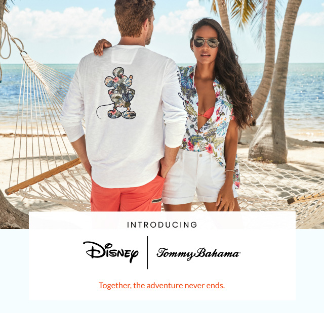 Disney and Tommy Bahama: Together, the Adventure Never Ends