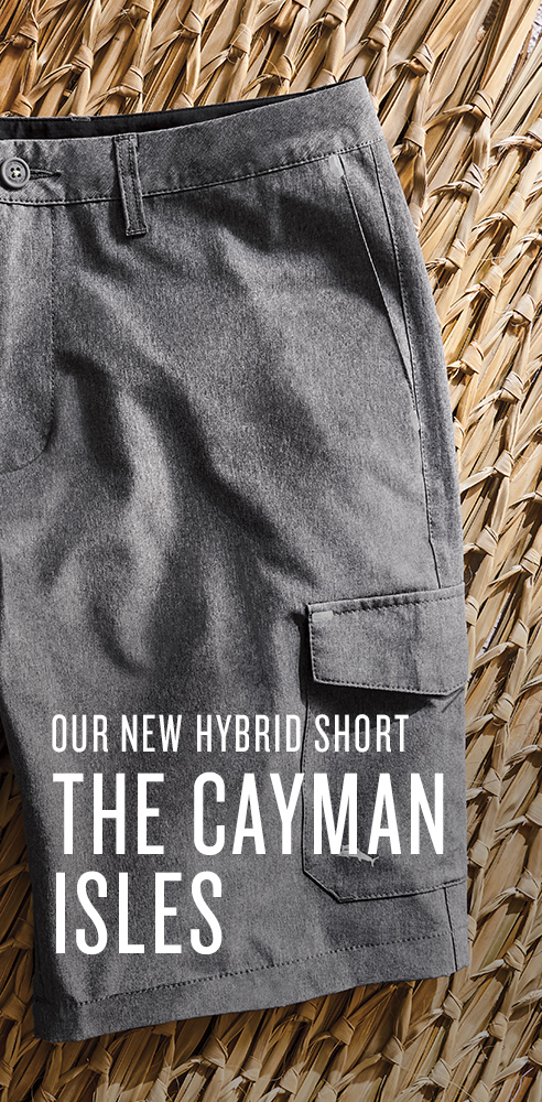 Our New Hybrid Short: The Cayman Isles