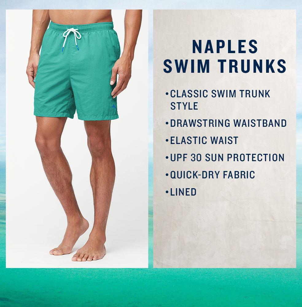 Naples Swim Trunks
