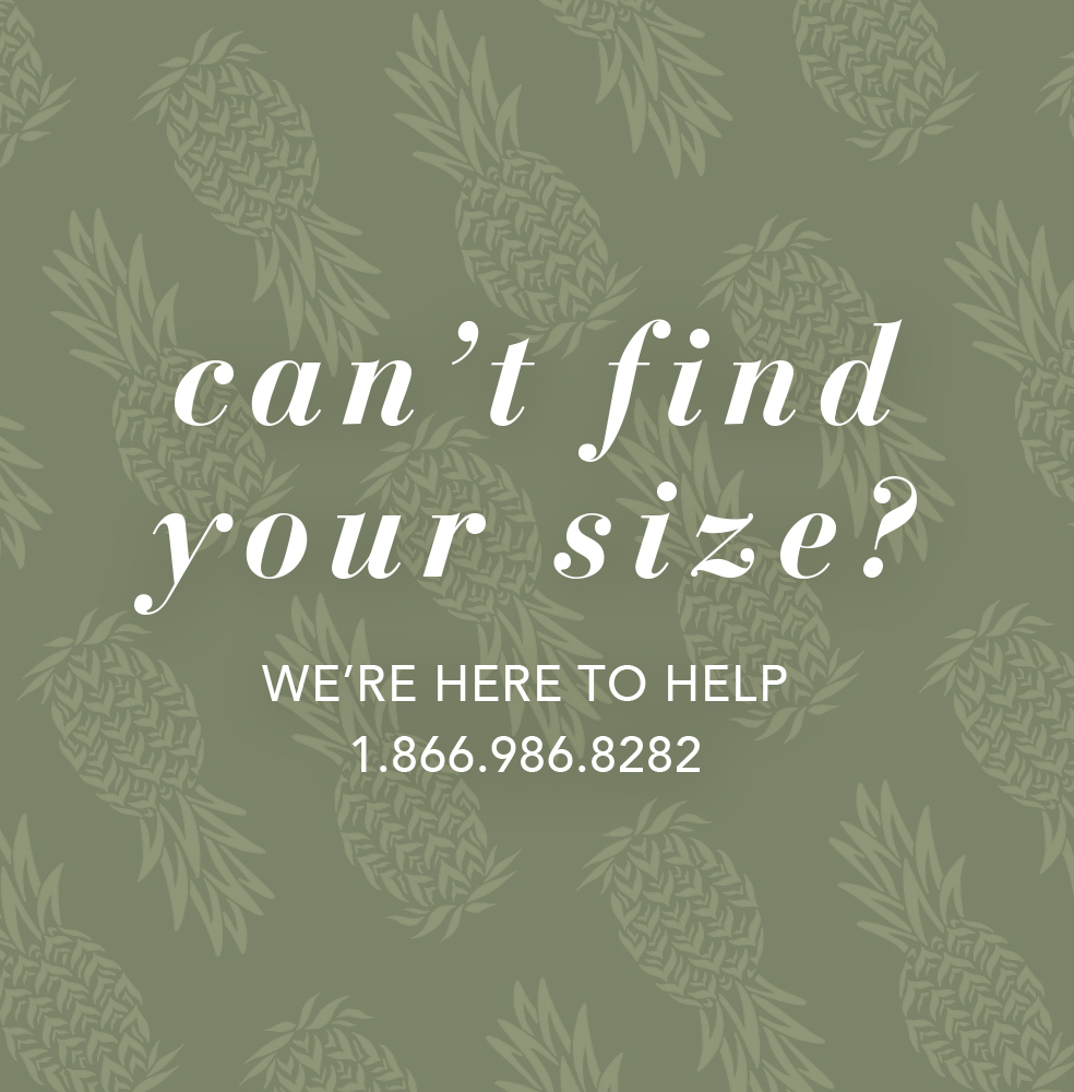 Can't Find Your Size?