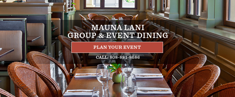Mauna Lani Group & Event Dining