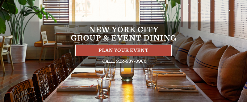 New York City Group & Event Dining