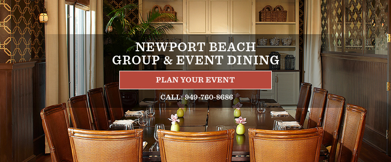 Newport Beach Group & Event Dining