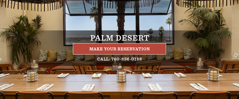 Palm Desert Restaurant