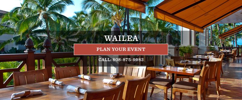 Lovely Wailea Group U0026 Event Dining
