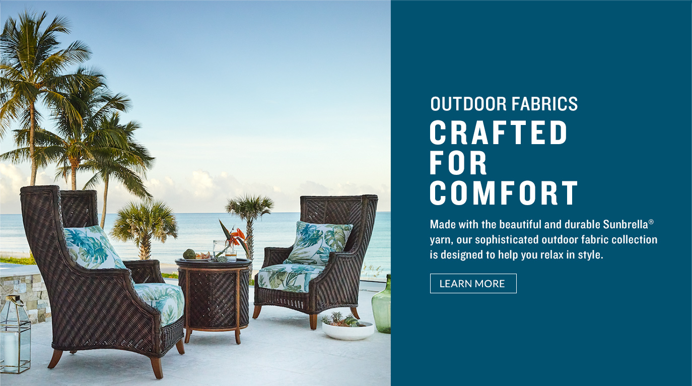 Outdoor Fabrics Created For Comfort