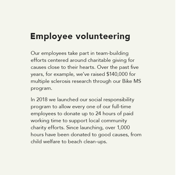 Employee volunteering