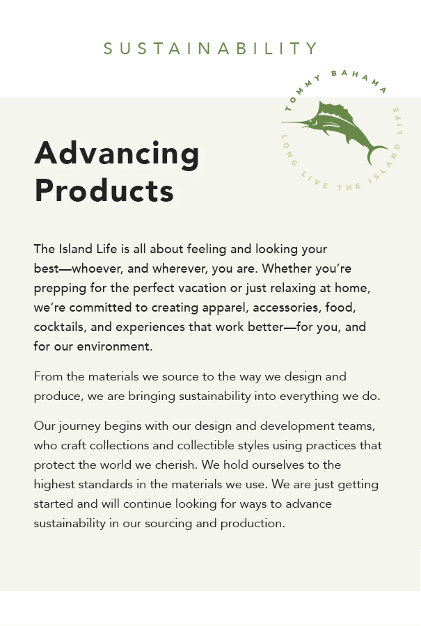 Advancing Products