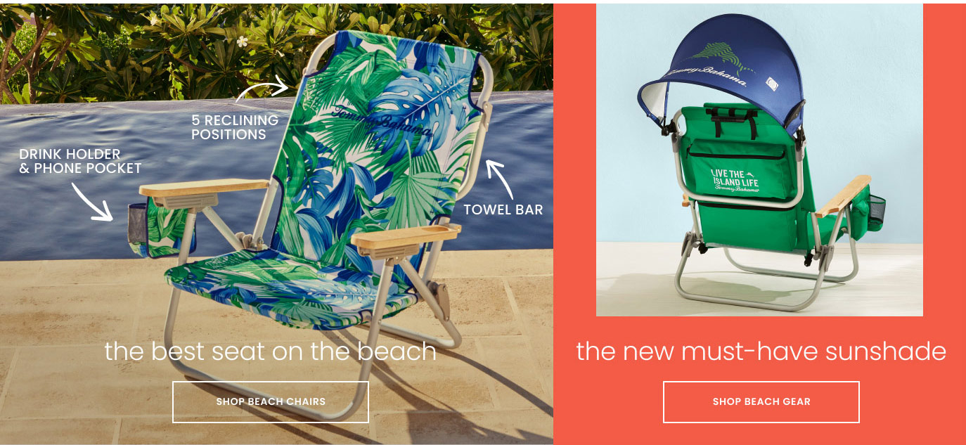 The Best Seat on the Beach and New Must-Have Sunshade