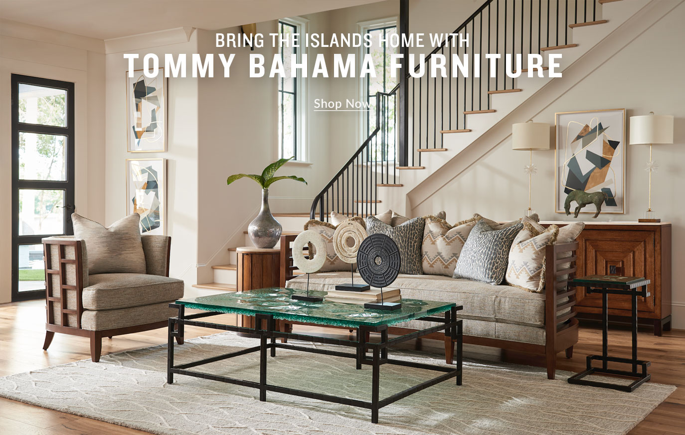 Bring The Islands Home With Tommy Bahama Furniture