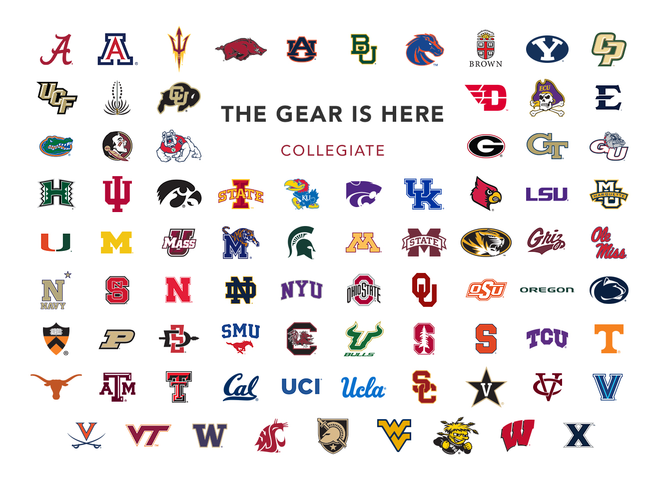 The Gear Is Here | Collegiate