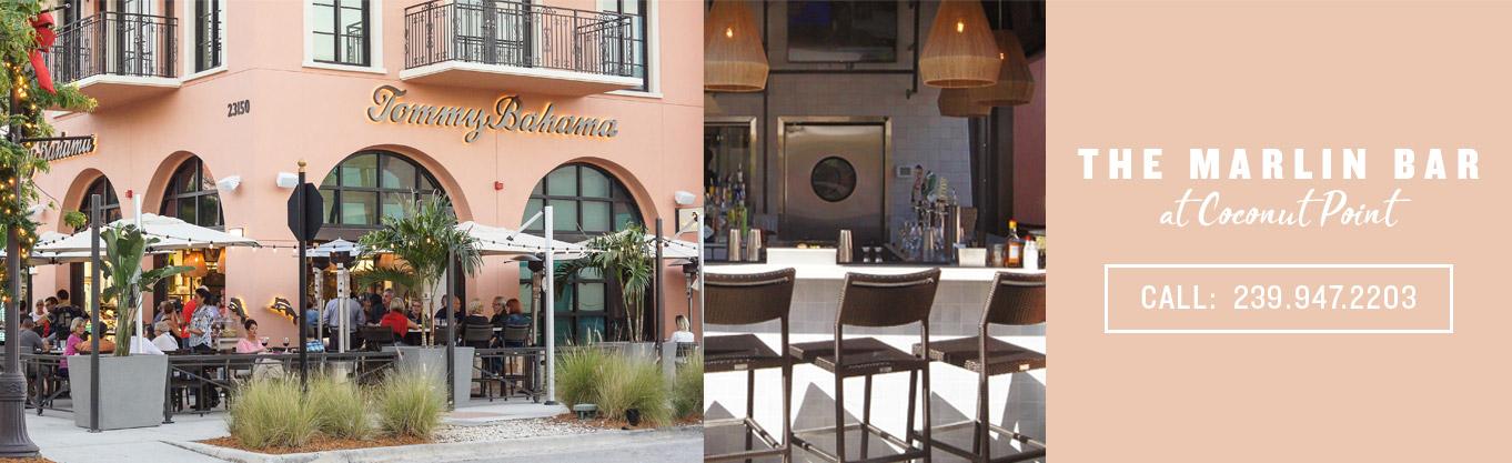 Tommy Bahama Stores Restaurants Marlin Bar At Coconut Point