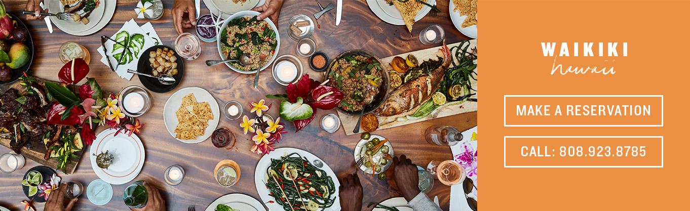 Our Waikiki Restaurants, Bars & Cafés