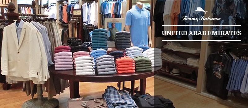 Tommy Bahama Stores in UAE