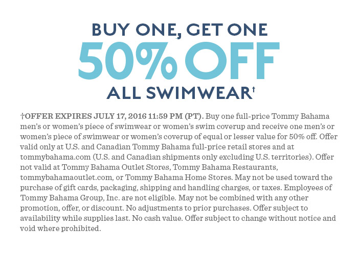 Buy one, get one 50% off - all swimwear