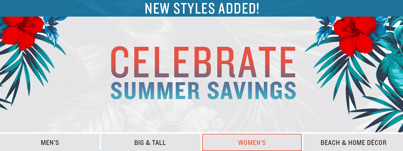 Celebrate Summer Savings