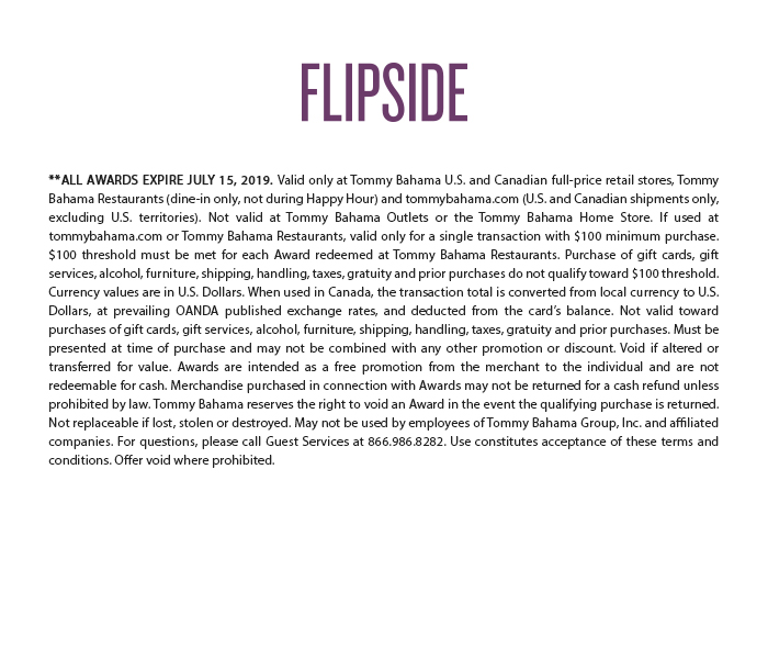 Redeem Your Flipside Award Now - July 15 Only!**