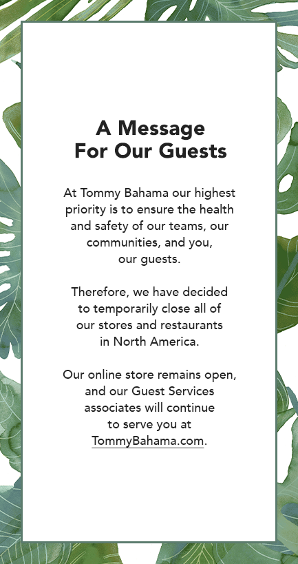Temporary store closure announcement