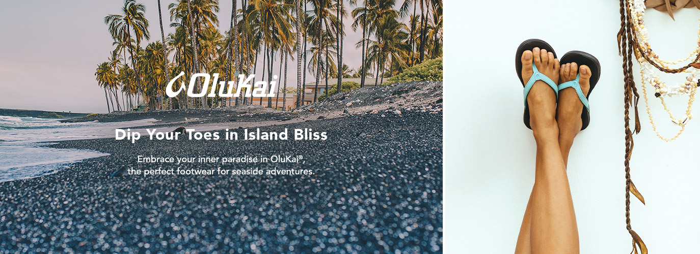OluKai: Dip Your Toes in Island Bliss