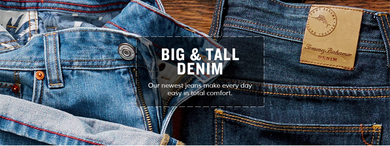 Big & Tall Denim