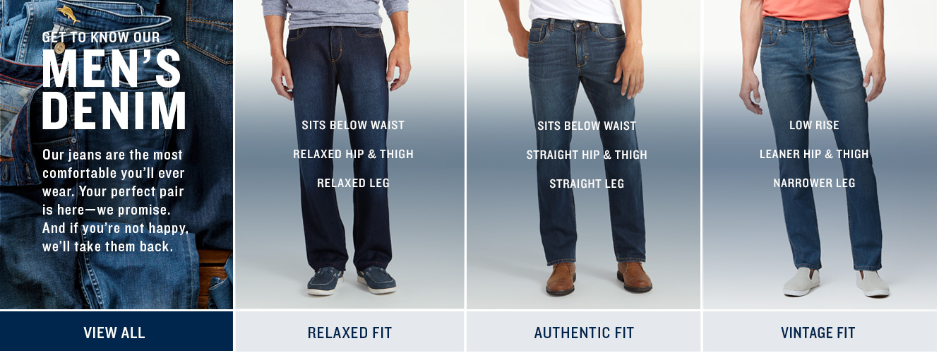 Get To Know Our Men's Denim