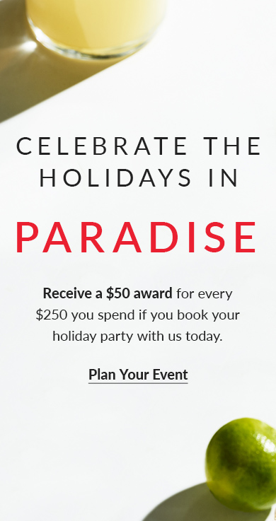 Celebrate The Holidays In Paradise