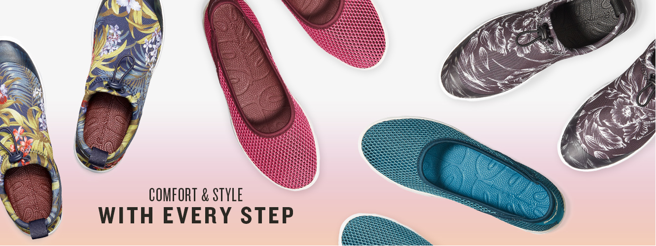 Comfort & Style With Every Step